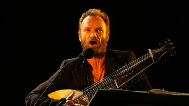 Sting's diverse musical interests continue to confound.