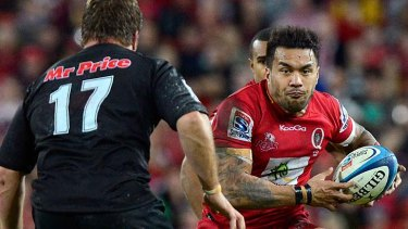 Banned ... Digby Ioane of the Reds.