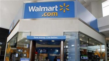 A Wal-Mart store in California.