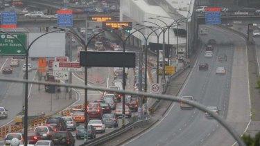 Traffic congestion on the Harbour Bridge is par for the course.