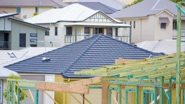The US has overtaken Australia in building the biggest new homes.