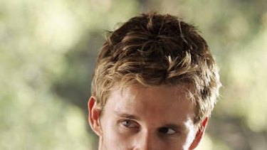 Surprise nominee ... Ryan Kwanten as Jason Stackhouse in True Blood.