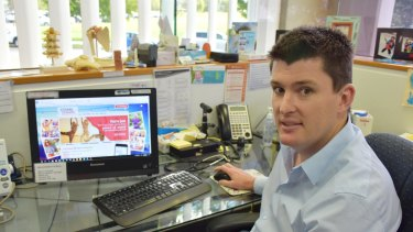 Mitchell Tanner co-founder of a national telehealth platform for STI screening, in his Singlelton GP surgery.