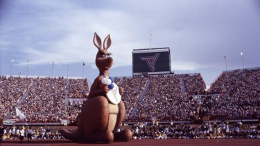Matilda the Kangaroo was mascot at the 1982 Brisbane Commonwealth Games.