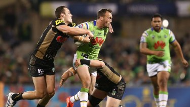 Josh Hodgson: not here for a holiday.