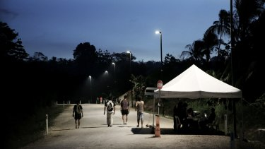 Nauru insists asylum seekers are no longer detained in their 'open centre'.