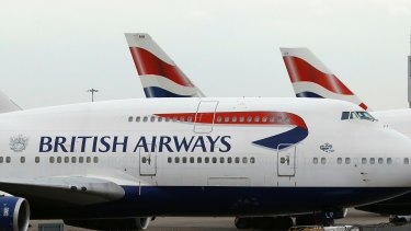 A British Airways flight has been held on the tarmac of a Paris airport because of a security threat