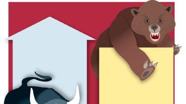 Animal instinct ... market ups and downs demand a level head. <i>Graphic: Jamie Brown</i>.