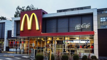 McDonalds at Cremorne is on a busy Sydney road.