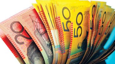 Forget cards, Australia is swimming in cash.