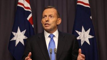 Tony Abbott faced a leadership showdown at Parliament House on Monday night.