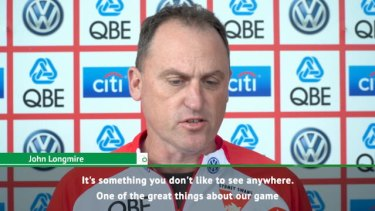 John Longmire feels that the game of AFL is very inclusive despite the recent issues around crowd control at games.
