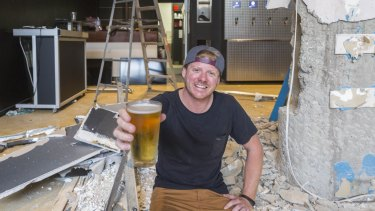 Steve Barber is bringing Taps to Fortitude Valley, where patrons will be able to pour their own brews from their table.