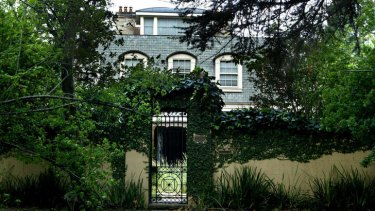 Assets: Obeid's Hunters Hill home.