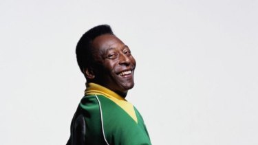 Beautiful game: Pelé is a three-time World Cup winner who can still draw a crowd anywhere in the world.