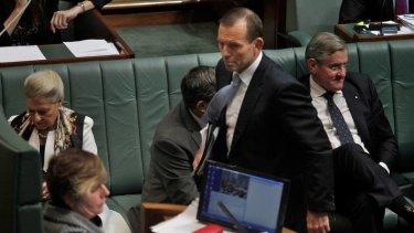 Opposition Leader Tony Abbott was ordered from the lower house by Deputy Speaker Anna Burke yesterday.
