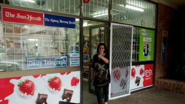 Business as usual … Mojgan Zojagi now runs the store.