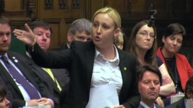 """Mhairi Black: """"I am now the only 20-year-old in the whole of the UK that the Chancellor is prepared to help with housing."""""""