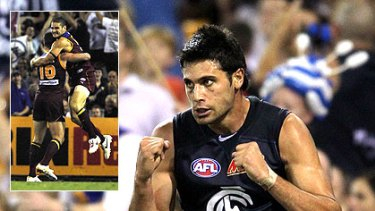 Setanta O'hAilpin kicked four goals, but it was not enough for the Blues, who were overrun by Jonathan Brown and, to a lesser extent, Brendan Fevola.