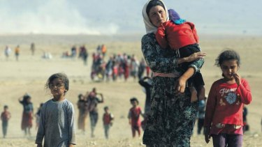 Tens of thousands of members of the Yazidi sect have fled from the militants.