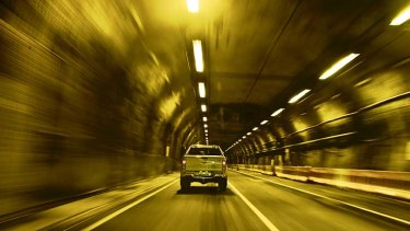 Proposed ... another M5 tunnel in the south.