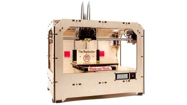 """The Replicator"" ... a 3D printer from Makerbot Industries."