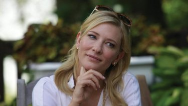 Caught in the storm: Cate Blanchett in Woody Allen's <i>Blue Jasmine</i>.
