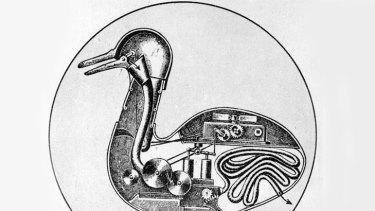 Jacques de Vaucanson's duck inspires Peter Carey's characters.