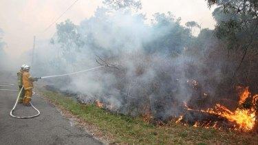 Prime Minister Tony Abbott will visit bushfire affected areas.