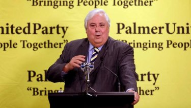 Clive Palmer says current cross media laws were drawn up before the internet era, but regional media rules don't need fixing.