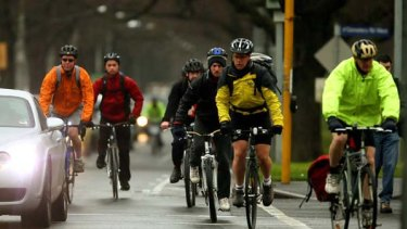Melbourne could learn something from Portland, Oregon, which has profited from promoting cycling in the city.