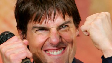 Scientology's poster boy ... Tom Cruise.