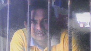 Incarcerated ... Sumith Balapuwaduge.