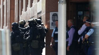 Siege in Martin Place.