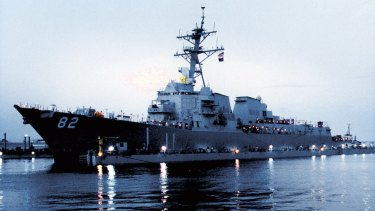The USS Lassen was met by no naval interception, no coast guard brinkmanship, and no exchange of fire when it visited Subi Reef.