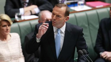 Outspoken ... Tony Abbott
