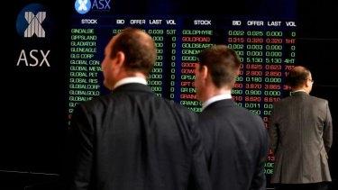 The sharp falls on the sharemarket followed a horror night on Wall Street.