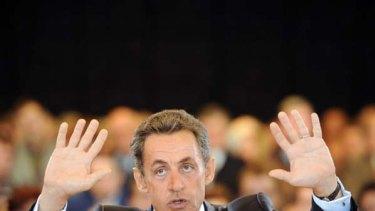 """Nicolas Sarkozy ... """"grotesque fairytales""""."""