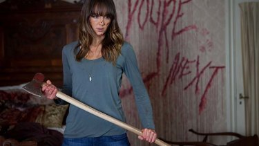 Feisty: Sharni Vinson plays a victim with a difference.