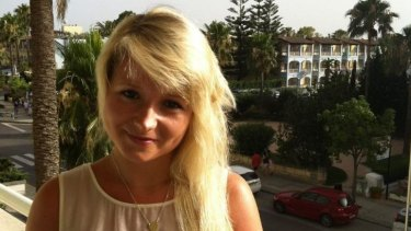 Killed: British tourist Hannah Witheridge.
