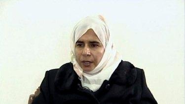 Death sentence: Sajida al-Rishawi.