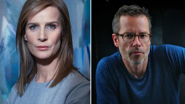 Rachel Griffith and Guy Pearce were both due to attend events on the weekend.