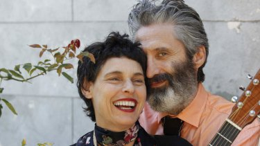 Labour of love: their new album is a career high for musical couple Deborah Conway and Willy Zygier.