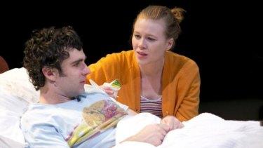 Anna McGahan and Mark Leonard Winter in <i>The Effect</i>.