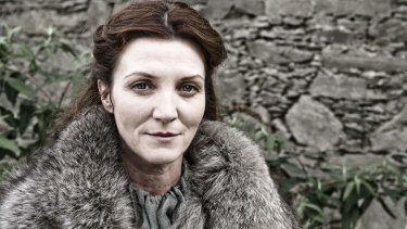 Bloody bells: Catelyn Stark (Michelle Fairley) takes centre stage in the coming season of HBO's <i>Game of Thrones</i>.