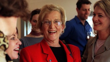 Hazel Hawke in 1999.