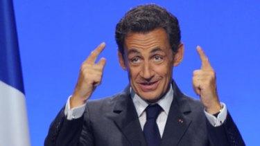 Nicolas Sarkozy ... under fire once again.