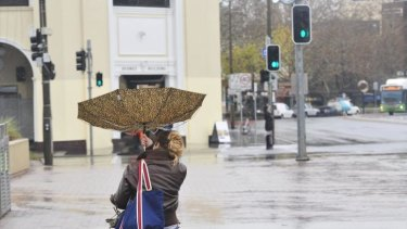 A week of wind, rain and dropping temperatures is ahead for Canberra