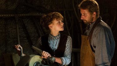 Carey Mulligan plays Bathsheba and Matthias Schoenaerts  one of her suitors, Gabriel, in <i> Far From the Madding Crowd.</i>