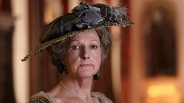 Old-fashioned whodunit: Penelope Keith as Lady Catherine de Bourgh in iDeath Comes to Pemberley/i.